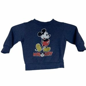 Disney Vintage Mickey Mouse Youth Sweater